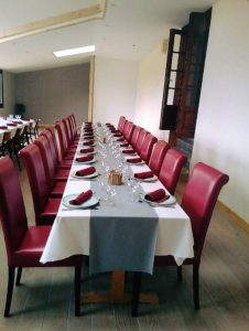 Salle restauration Gite Auberge Edelweiss